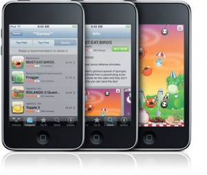 The New iPod Touch With Open GL