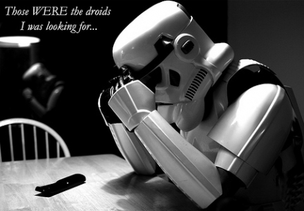 Storm Trooper - Those WERE the droids I was looking for...lol