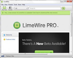 Limewire Pro Beta Updates Available