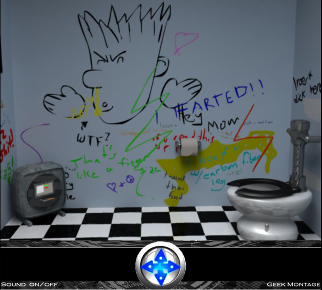 the bathroom game. Escape the Bathroom Reloaded Screenshot 1  2 Geek Montage