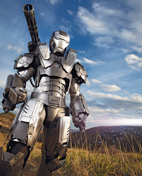 War Machine Armor - Front