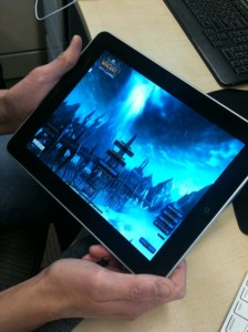 World of Warcraft (WoW) Streaming on iPad