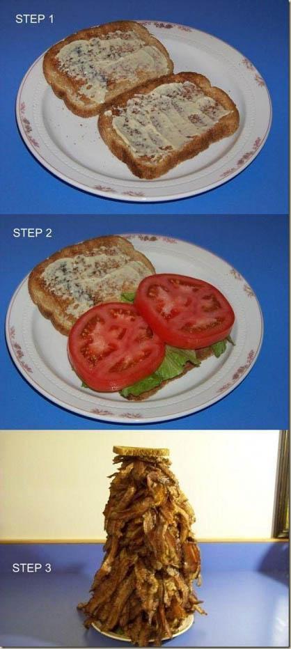 Big Bacon Sandwich