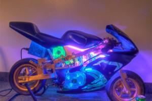 Pocketbike PC Case Mod