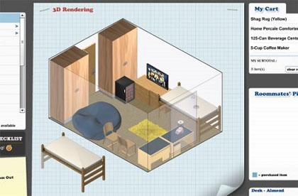 3d online tool to design your dorm room geek montage - Design your room online ...