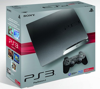 The 250GB PS3 (System Only)