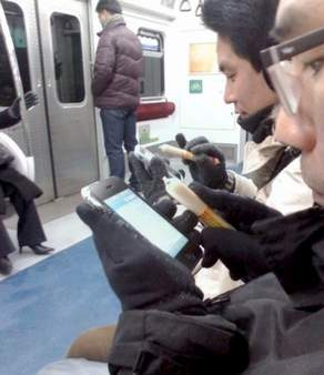 Sausage Stylus Used on the Subway