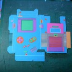 Papercraft Paper Game Boy