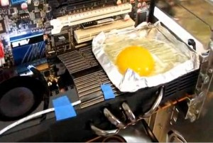 Can the Fermi Fry an Egg?