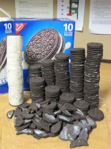Oreo With a Lot of Filling