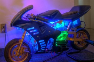 Pocketbike PC Case Mod